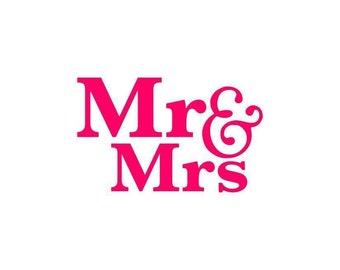 Mr Mrs Stencil Wedding Cookie And Cookies