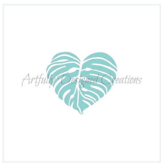 Jungle Leaves Cookie Stencil Decorating Cake Stencils Cookie Stencil Leaves Stencil Jungle Leaves Stencil FAST Shipping!!