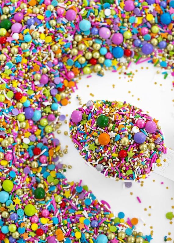 Cookie Sprinkles Cake Sprinkles FAST Shipping!! Jimmies Sprinkles Wait and See Sweetapolita Sprinkles Mix Sprinkles Vegan