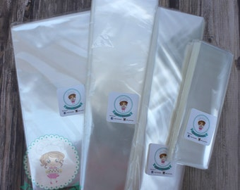 FAST Shipping!!! 100 Clear High Quality Cellophane bags, Cookie Bags, Food Packing, Favor Bags, Invitation Bags,