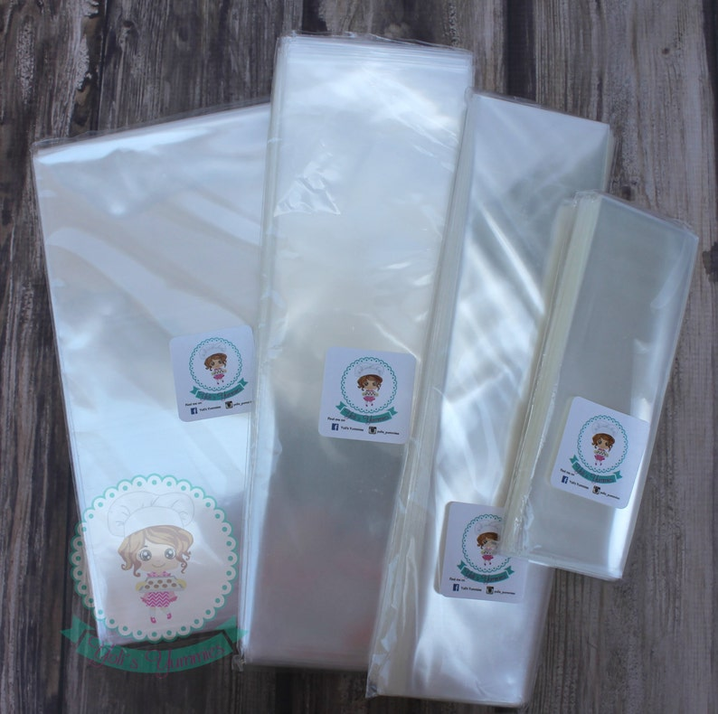 FAST Shipping 100 Clear High Quality Cellophane bags image 0