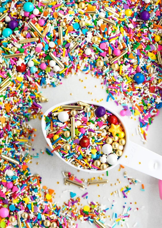 FAST Shipping! Over the Rainbow Sweetapolita Sprinkles, Jimmies Sprinkles,  Unicorn Mix Sprinkles, Cookie Sprinkles, Cake Sprinkles