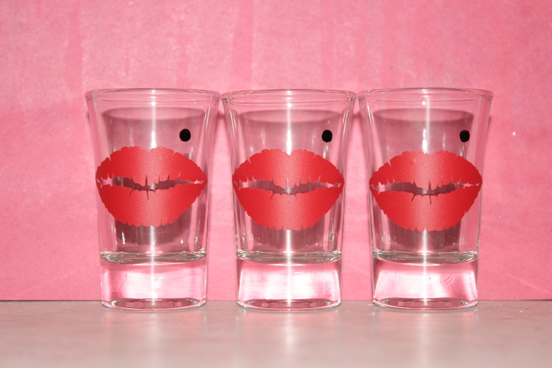 6 Marilyn Monroe Shot Glasses Party Favors Shot Glasses | Etsy