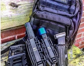 Bullet keychain key chain zipper pull 40 45 223 AR15 Zombie FREE US SHIPPING!!!