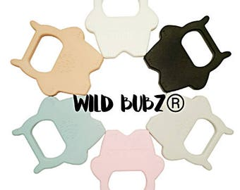 WILD BUBZ® Silicone Wild One Teether Toy - Exclusive to Teething Baby World - Independently lab tested
