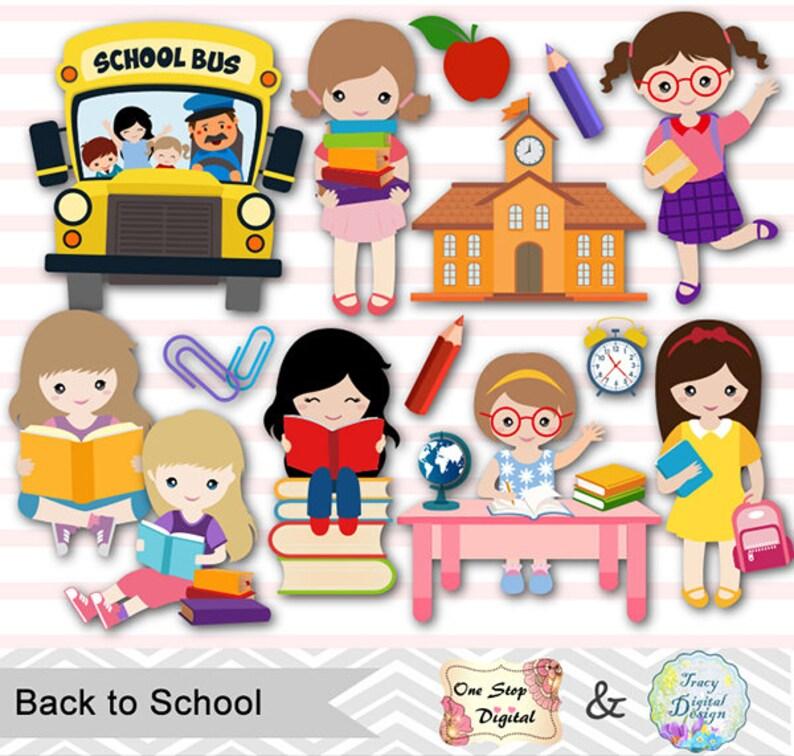 Digitale torna a scuola clipart Clipart di giorno di scuola  6f0c75e90344