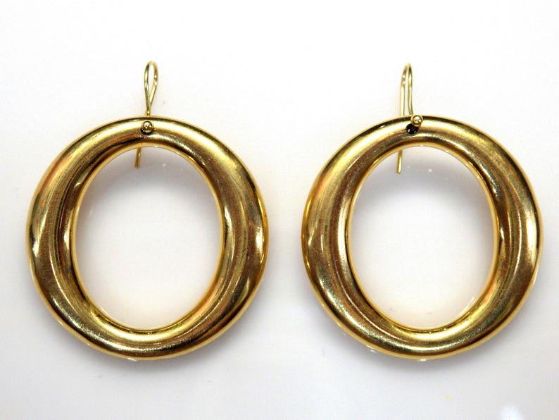 b9ff94903227 Pendientes Aretes de Oro Amarillo de 18k Tiffany   Co.