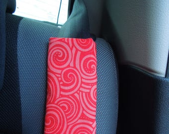 Protects belt or strap red cozy.