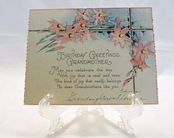 grandmother birthday etsy