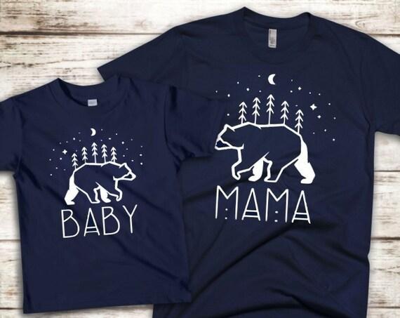 Mama Bear/Baby Bear T Shirt/Bodysuit