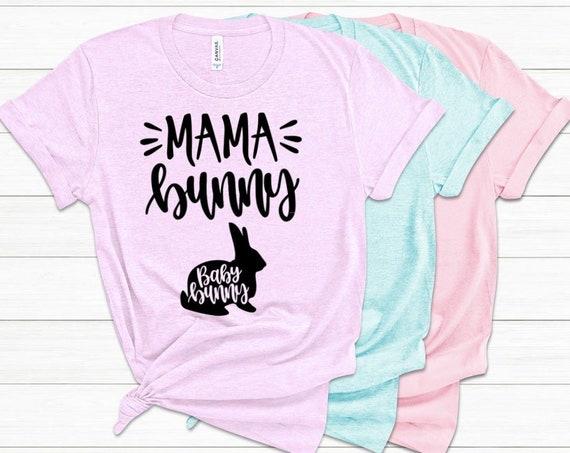 Mama Bunny Easter Shirt