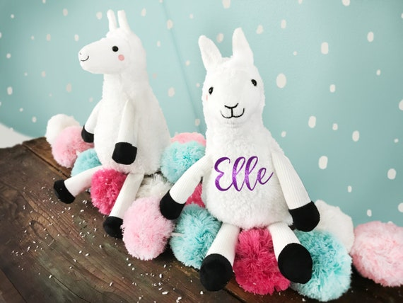 Personalized Llama Plush| Plush Llama | Stocking Stuffer