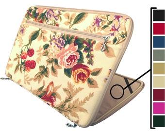 Floral Laptop Sleeve, 13 Inch Laptop Case, Floral Laptop Sleeve, Floral Macbook Case, Macbook Air 13 Case, Macbook Air Case, Labtop Bag