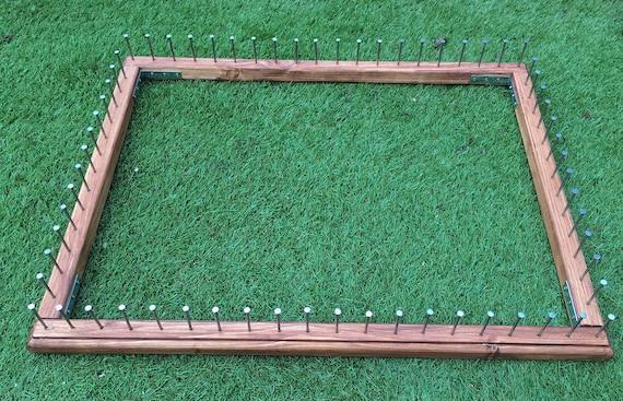 Frame to make pom pom blankets 31x25 outer frame size