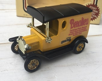 78d3e88701 LLEDO BEAULIEU National Motor Museum Diecast Model T Ford Vintage Van 1980s  Made in England