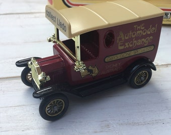 2d8cf1069b LLEDO AUTOMODEL Exchange Sydney Australia Diecast Model T Ford Vintage Van  1980s Made in England
