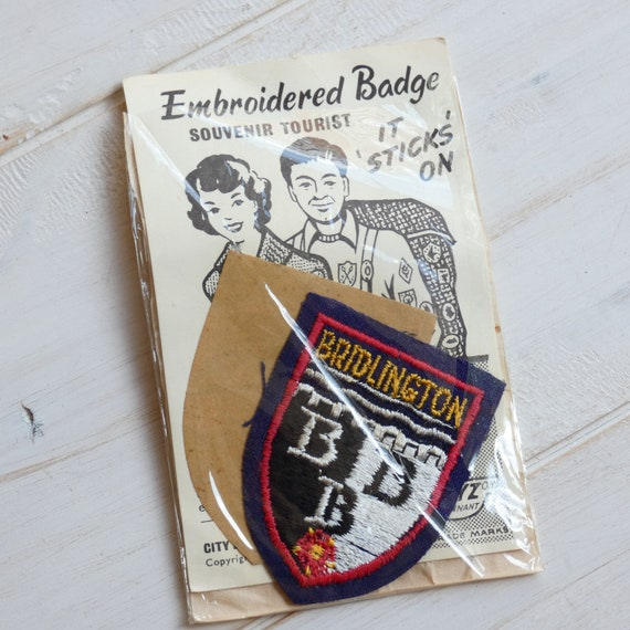 Bridlington England Town /& City Embroidered Sew on Patch Badge