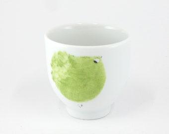 Porcelain cup,Little Cup,little pink Bowl,Petit Bol,Tasse à café,   Cup