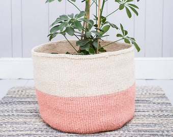 JIONI: XL Dusky Pink Storage Basket