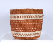 Unique Traditional Fine Weave Baskets: Small Natural Collection