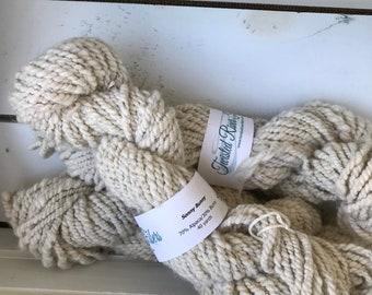 Hand Spun Alpaca Angora Bunny Yarn - Bulky Weight