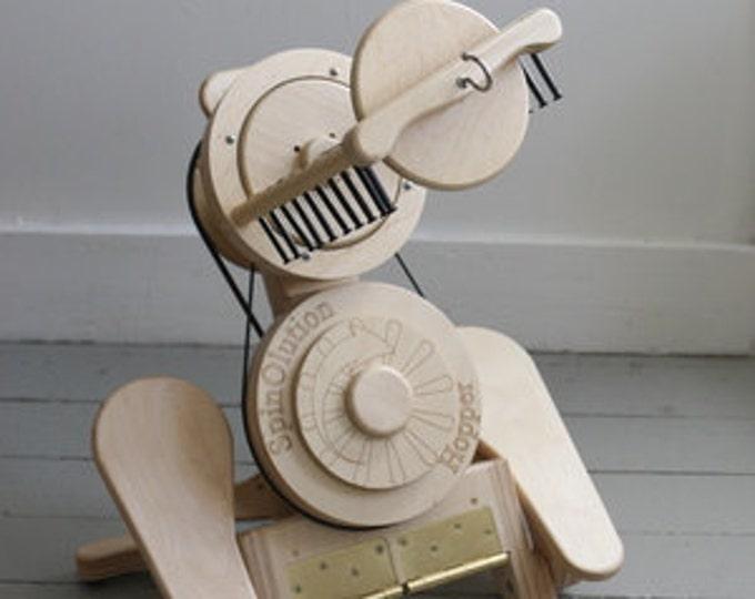 Spinning Wheel - SpinOlution Hopper - Travel Spinning Wheel - Free Shipping