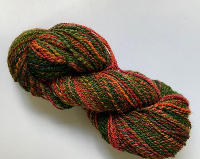 Hand Spun Wool and Alpaca Yarn - Worsted Weight
