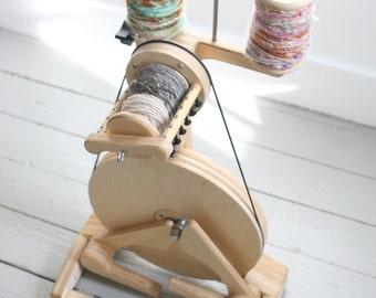 Spinning Wheel - SpinOlution Pollywog - Lightweight Spinning Wheel - Starter Wheel - Free Shipping