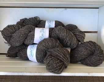Hand Spun Lambs Wool Yarn - Worsted Weight