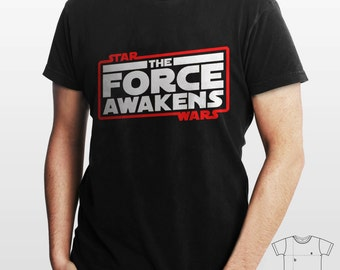 Birthday Present Star Wars: Episode VII - The Force Awakens cotton comfortable new design 2015 t-shirt