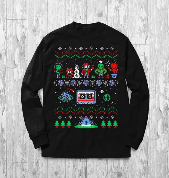 Avengers Christmas Sweatshirt Ugly Christmas Sweater Design Etsy