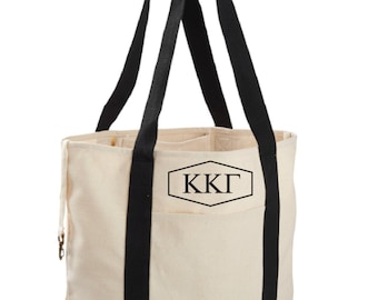 Kappa Kappa Gamma Canvas Tote Bag