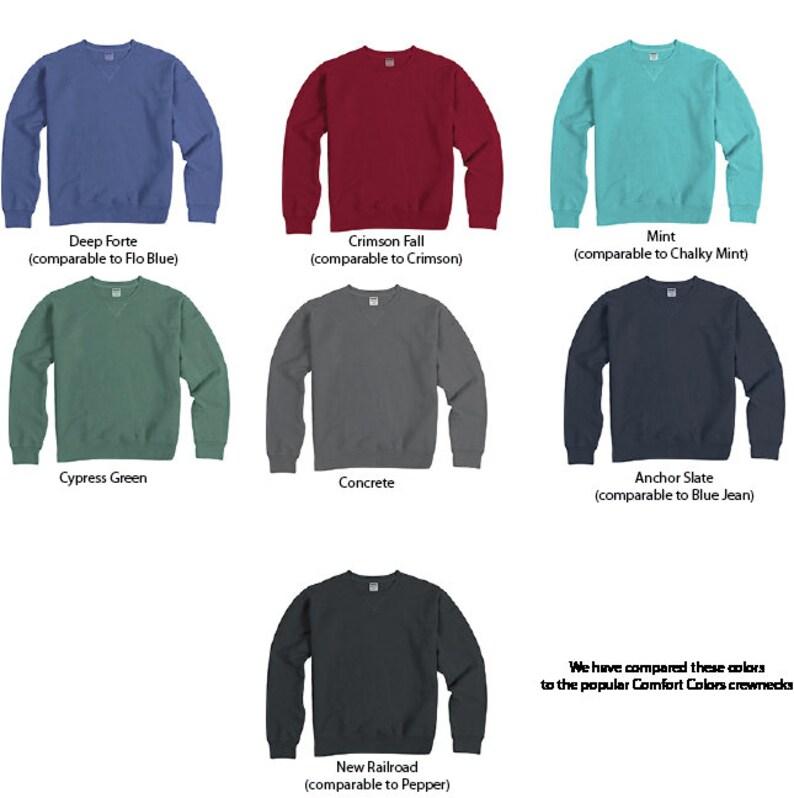 Kappa Delta   KD   Sorority Comfort Color Greek Letters Sweatshirt  Choose Your Color