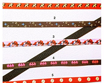 Matching Set 1/2 Inch Wide Custom Made Adjustable Super Heros Patterns Dog Collar and Leash