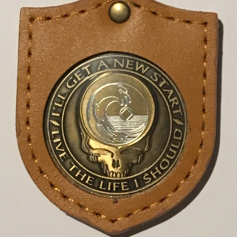 XL Coin Keeper® Leather Keychain