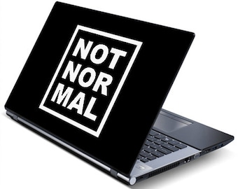 Mini Cooper Not Normal (Square) (Decal)