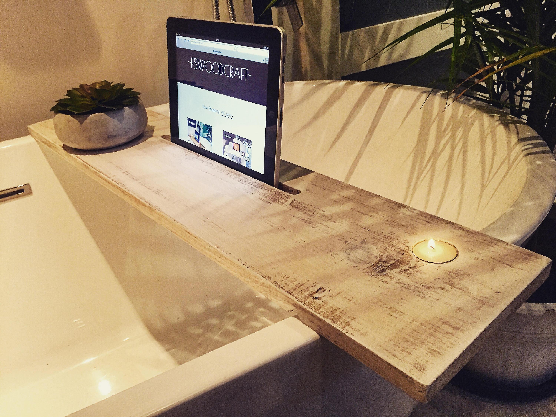 salle de bain plateau salle de bain d cor boho bain caddy. Black Bedroom Furniture Sets. Home Design Ideas