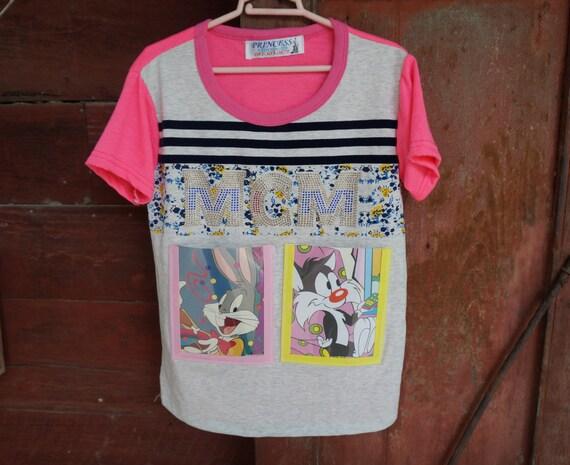 Cadre photo sur Kid T-Shirt(Grey Pink Color)-nouvelle tendance mur décorer-idée pour décoration d'intérieur