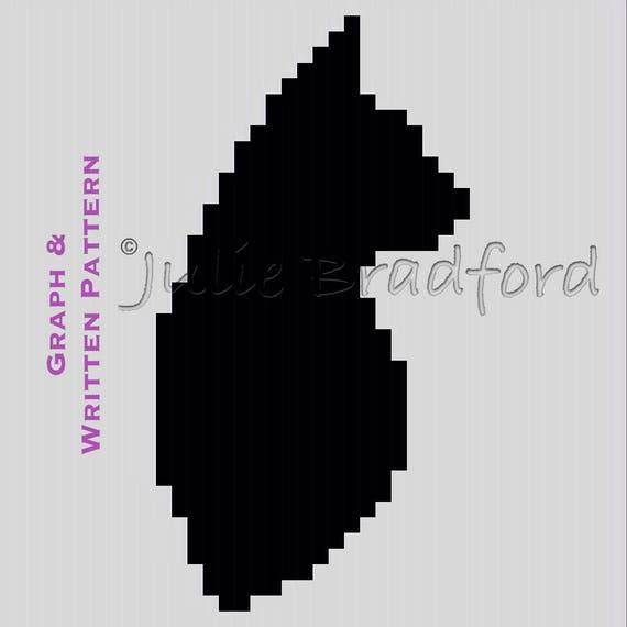 Ravelry: Sassy The Kitty Cat Pillow pattern by Ira Rott | 570x570
