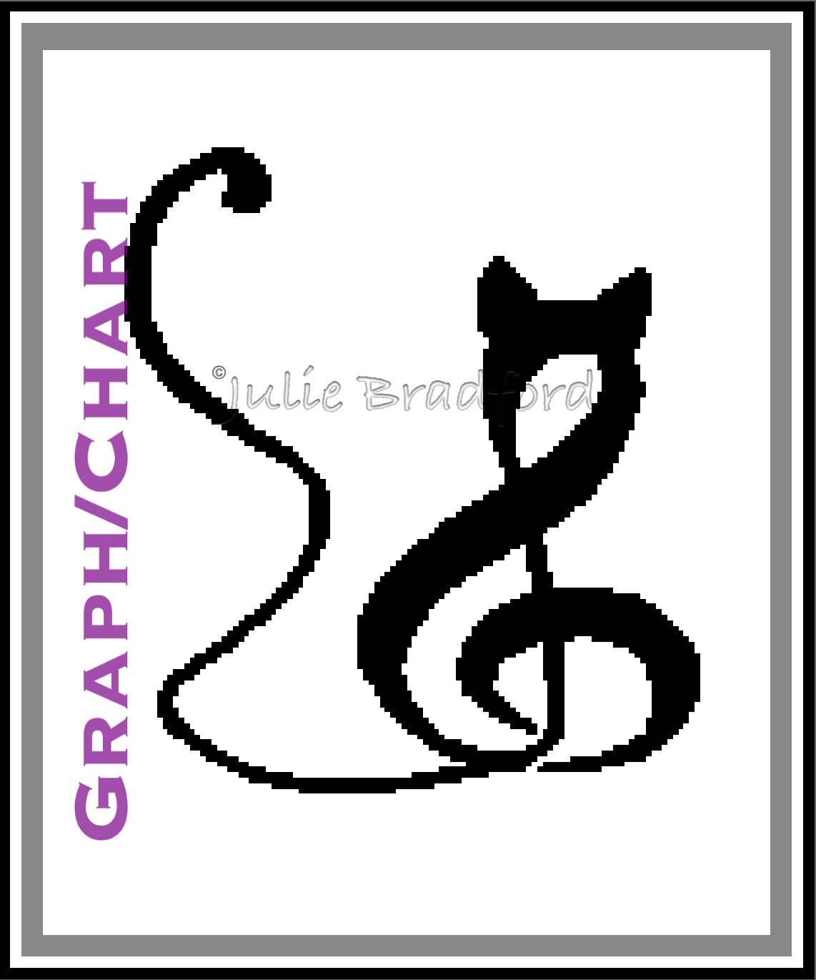 Crochet Cat Musical Note Graph Kitten Music Blanket Pattern Etsy