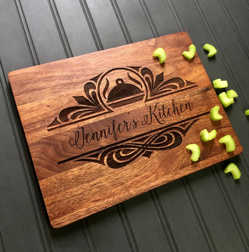 Cutting Board Custom Cutting Board Moms Kitchen Christmas image 0