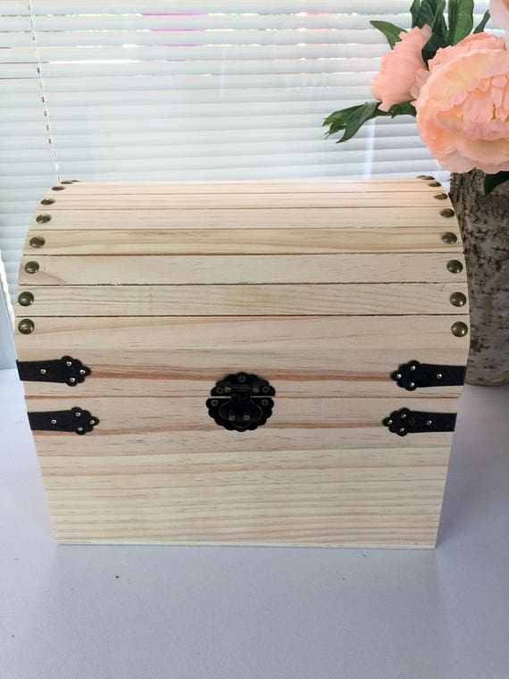Trunk Box, Unfinished Wooden Chest, Chest, Memory Box, Card Box, Storage  Chest, Treasure Chest, Storage Box,DYI