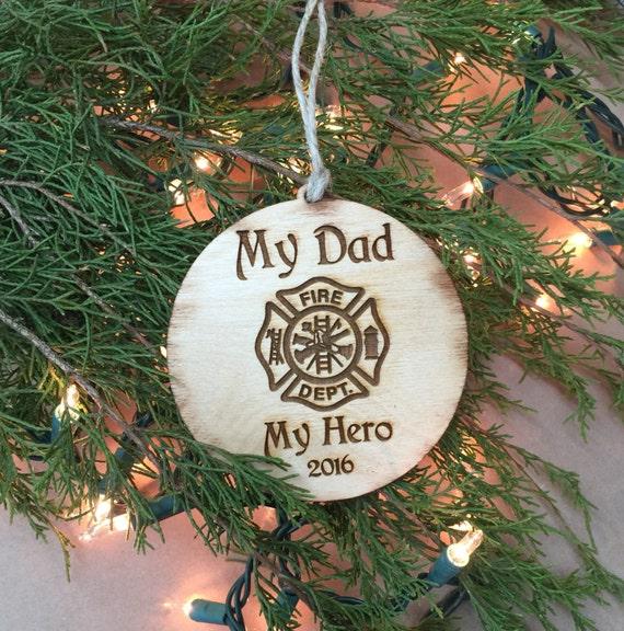 - Ornament Dad Christmas Ornament Fireman Ornament Maltese Etsy