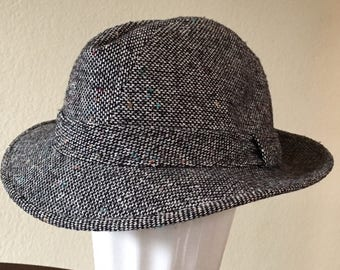 Wool Tweed Trilby 23bbca8c05e7