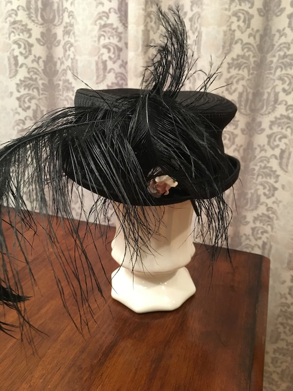 Square Crowned Bowler/Top Hat/Tilt Hat