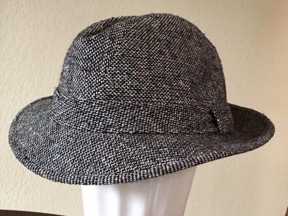 Wool Tweed Trilby