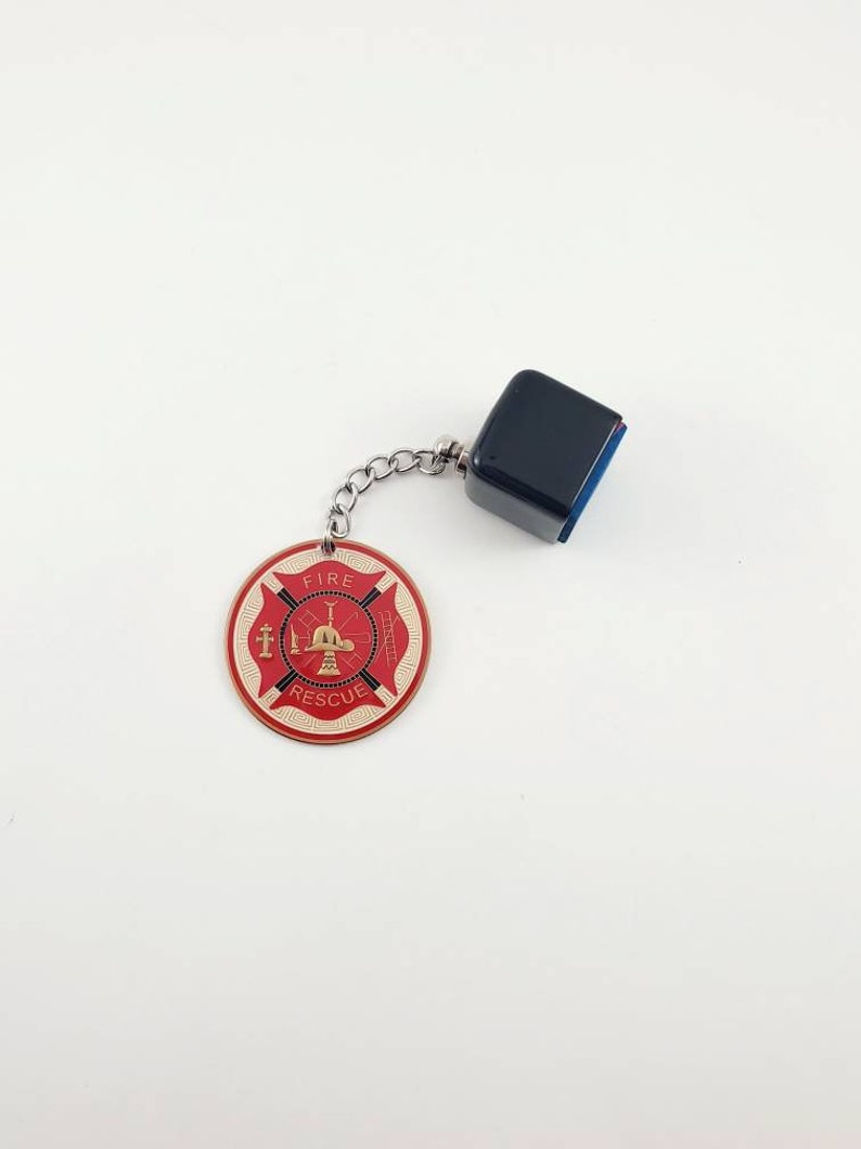 Firefighter Chalk Holder Billiards Snooker Pool Pocket Chalker Billiards Gifts Pool Player Gifts The Happy Chalker Fire and Rescue