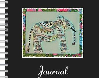 Elephant Journal in Black