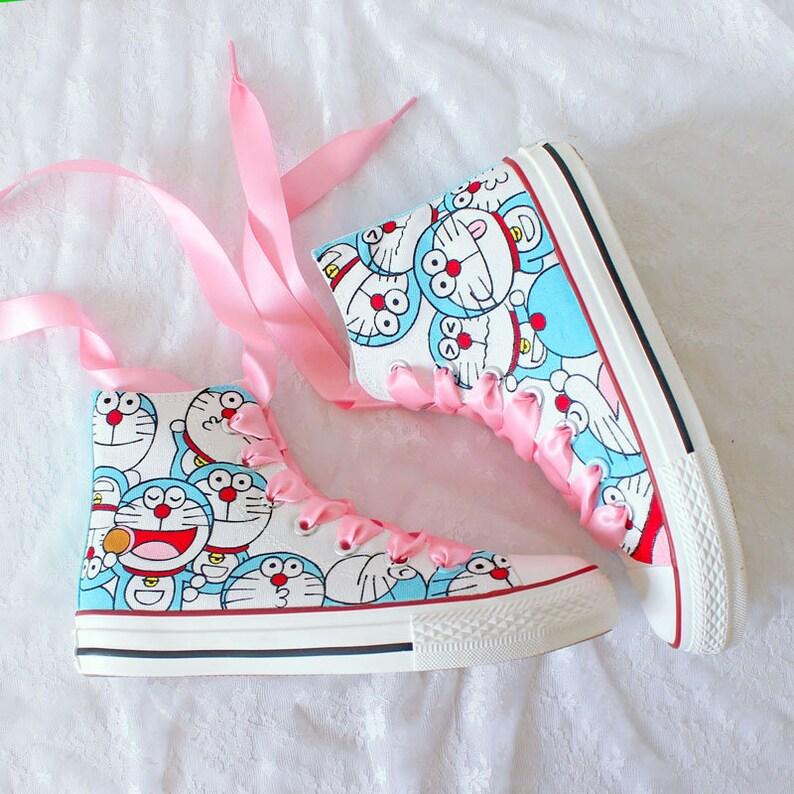 Scarpe da cartone animati dipinte a mano scarpe z2GFz5we