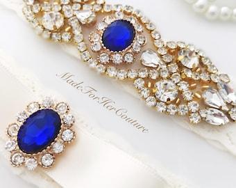 garters for wedding, sapphire bridal garter, wedding garter, bridal garter, garter belt, garter set , blue bridal garter, something blue